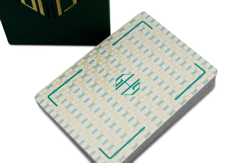 Hollingworths, Emerald Ed. Playing Cards - RarePlayingCards.com - 1