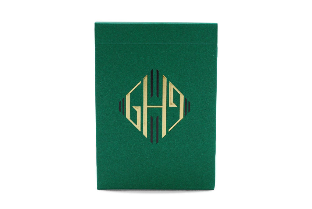 Hollingworths, Emerald Ed. Playing Cards - RarePlayingCards.com - 2