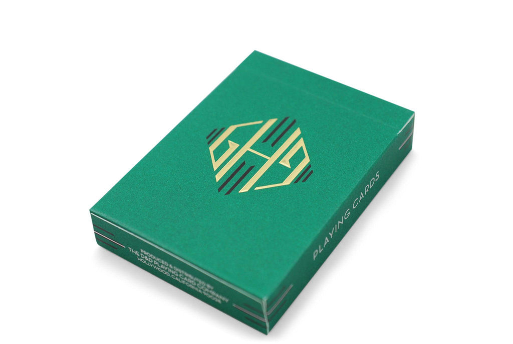 Hollingworths, Emerald Ed. Playing Cards - RarePlayingCards.com - 3