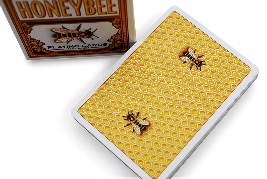 Honeybee V2 Playing Cards by Penguin Magic