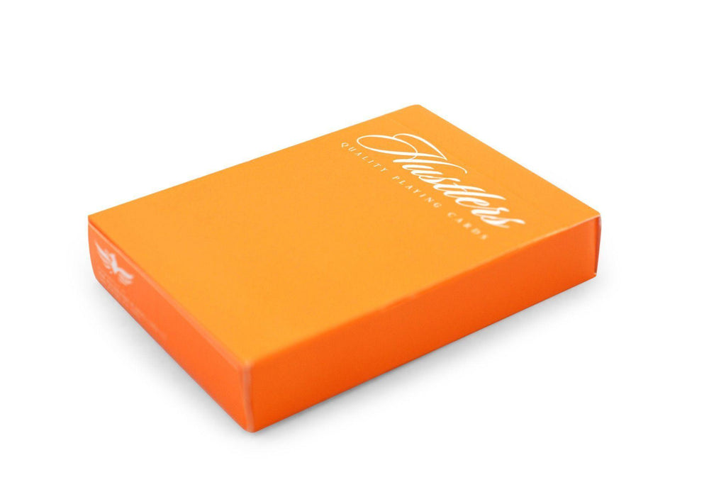 Hustlers Orange Limited Playing Cards by Ellusionist