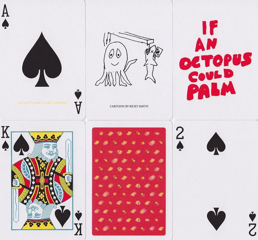 If an Octopus Could Palm Playing Cards - RarePlayingCards.com - 10