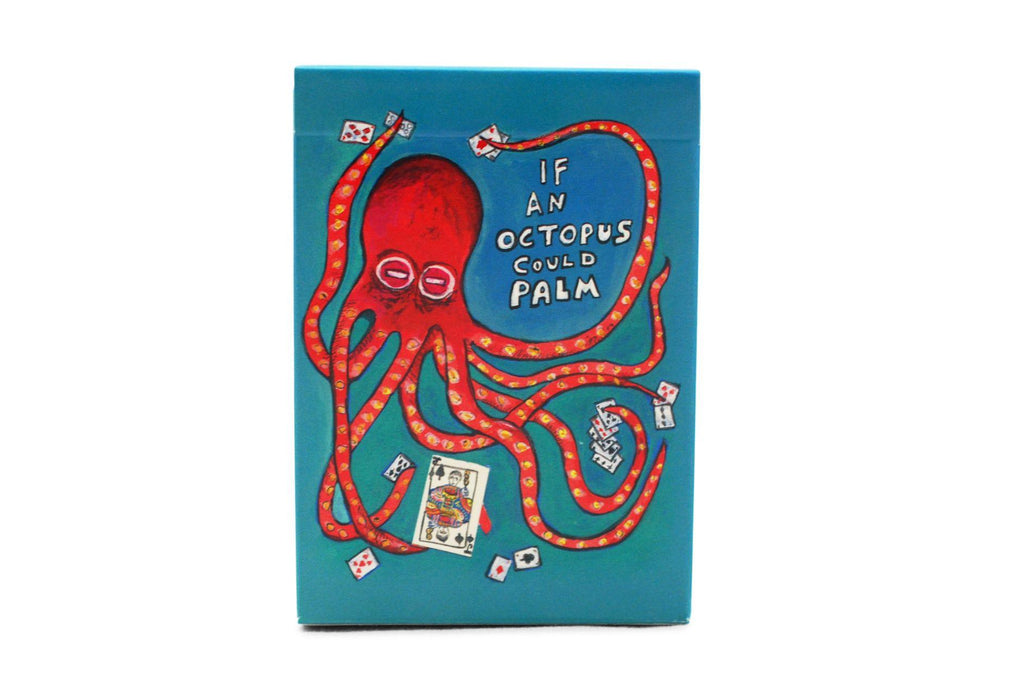 If an Octopus Could Palm Playing Cards - RarePlayingCards.com - 4
