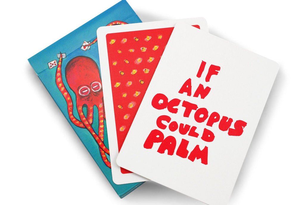 If an Octopus Could Palm Playing Cards - RarePlayingCards.com - 9