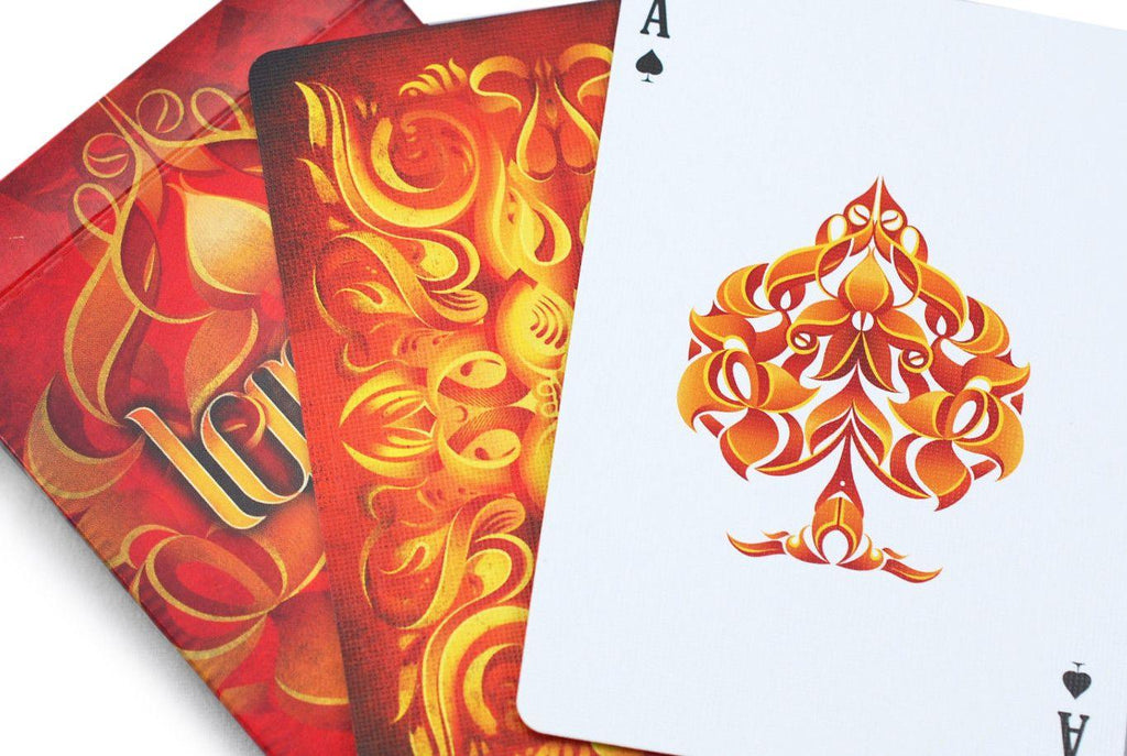 Ignite Playing Cards - RarePlayingCards.com - 10