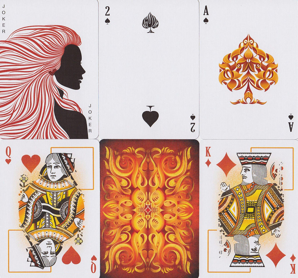 Ignite Playing Cards - RarePlayingCards.com - 12