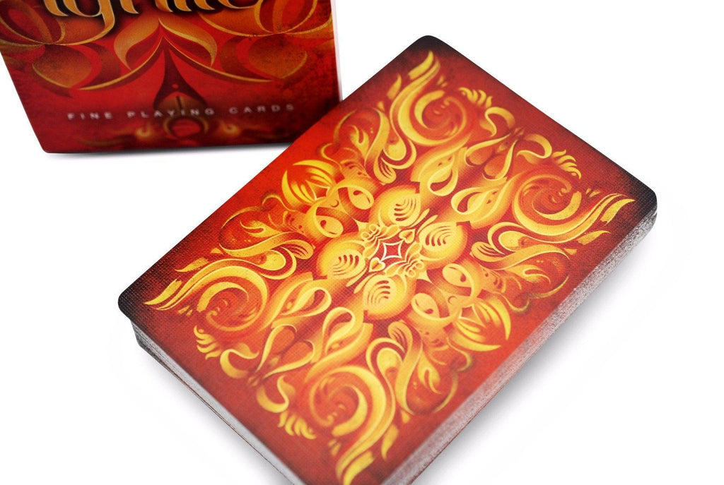 Ignite Playing Cards - RarePlayingCards.com - 1