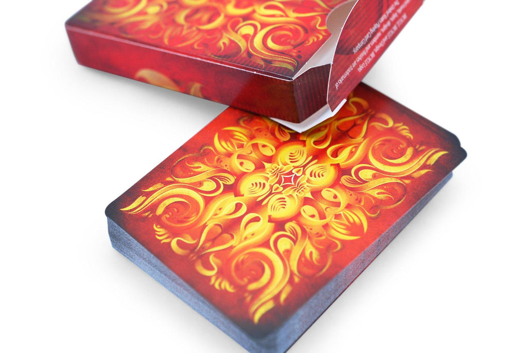 Ignite Playing Cards - RarePlayingCards.com - 7