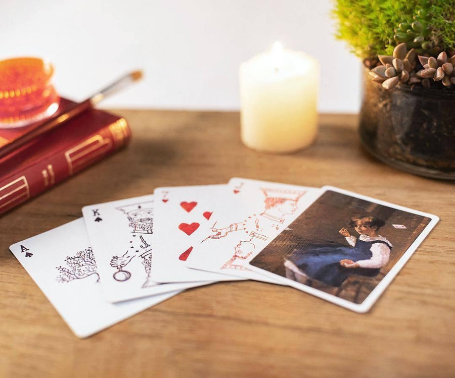 Impasto Playing Cards by Obec Studio