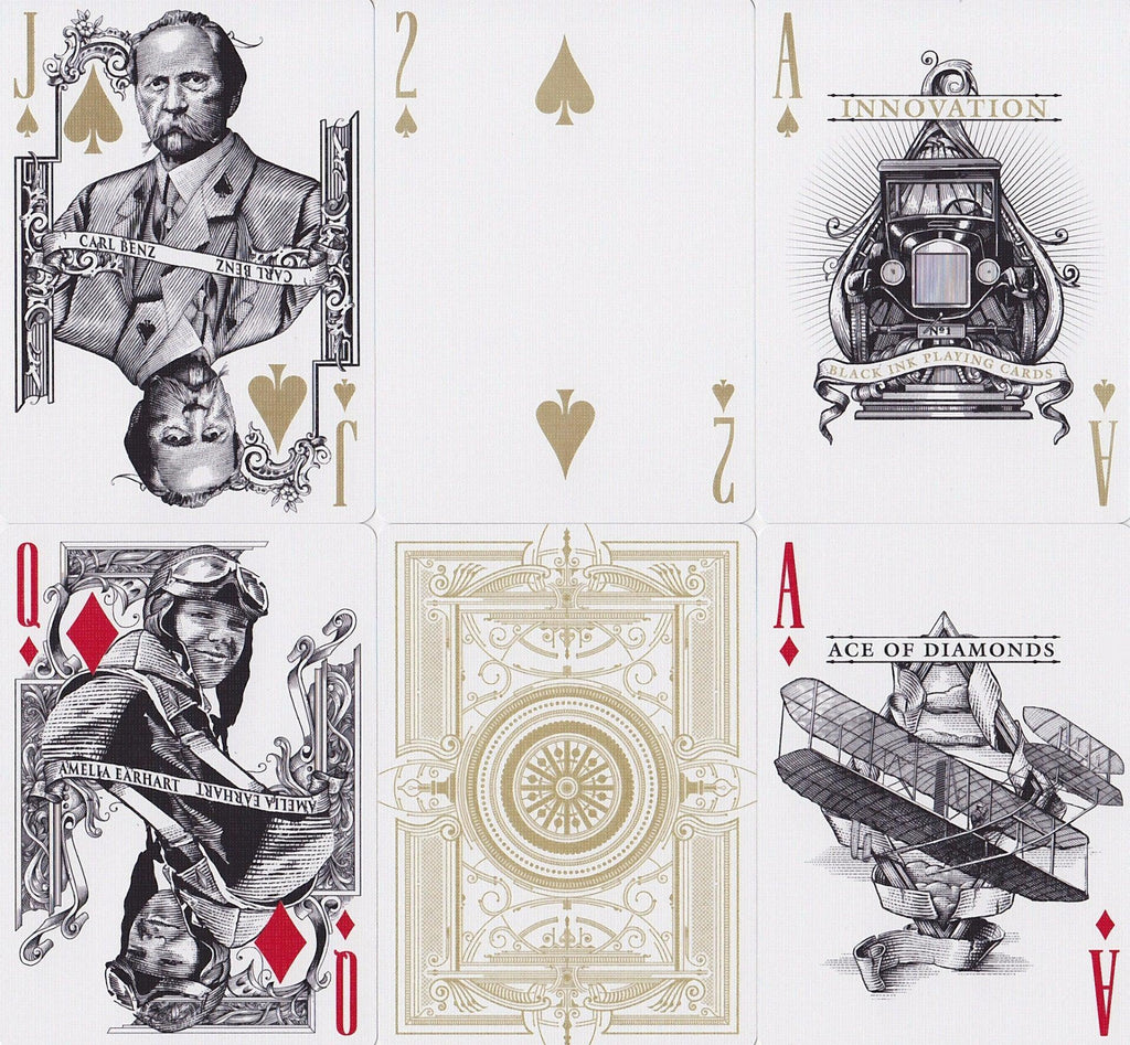 Innovation: Signature Edition Playing Cards - RarePlayingCards.com - 9
