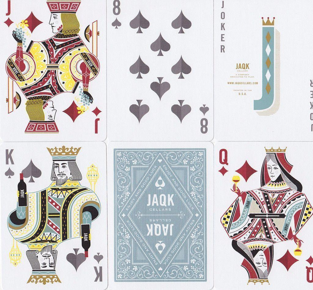 JAQK Cellars Playing Cards - RarePlayingCards.com - 10