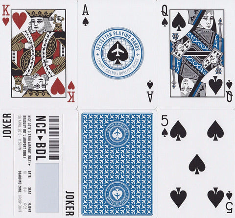 Jetsetter: Premier Edition Playing Cards - RarePlayingCards.com - 1