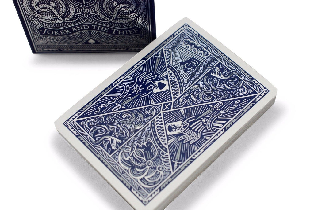 Joker and the Thief Playing Cards - RarePlayingCards.com - 1