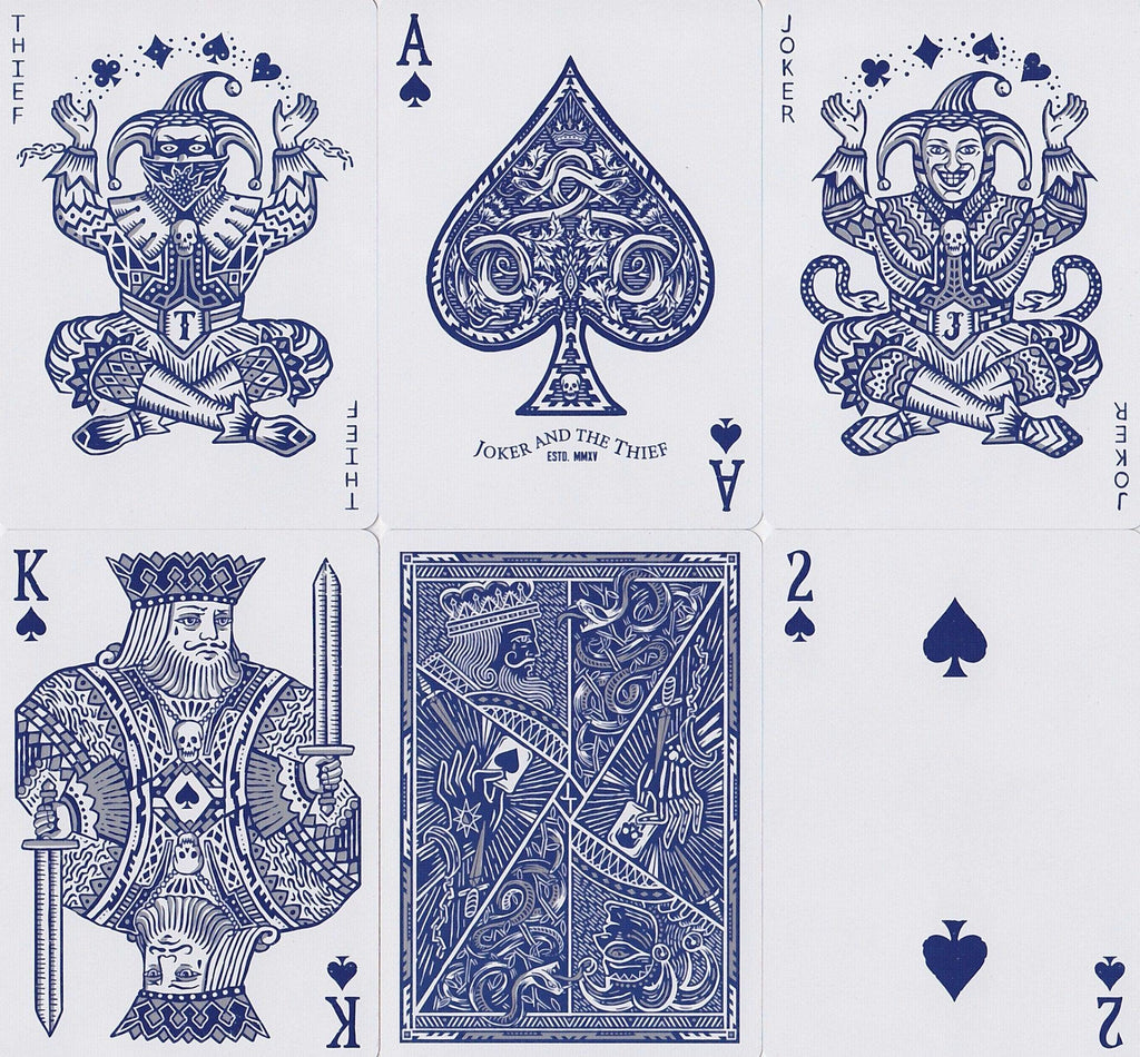 Joker and the Thief Playing Cards - RarePlayingCards.com - 9