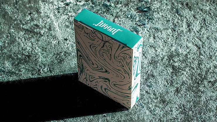 Juggler Marble Edition Playing Cards by Julio Ribera