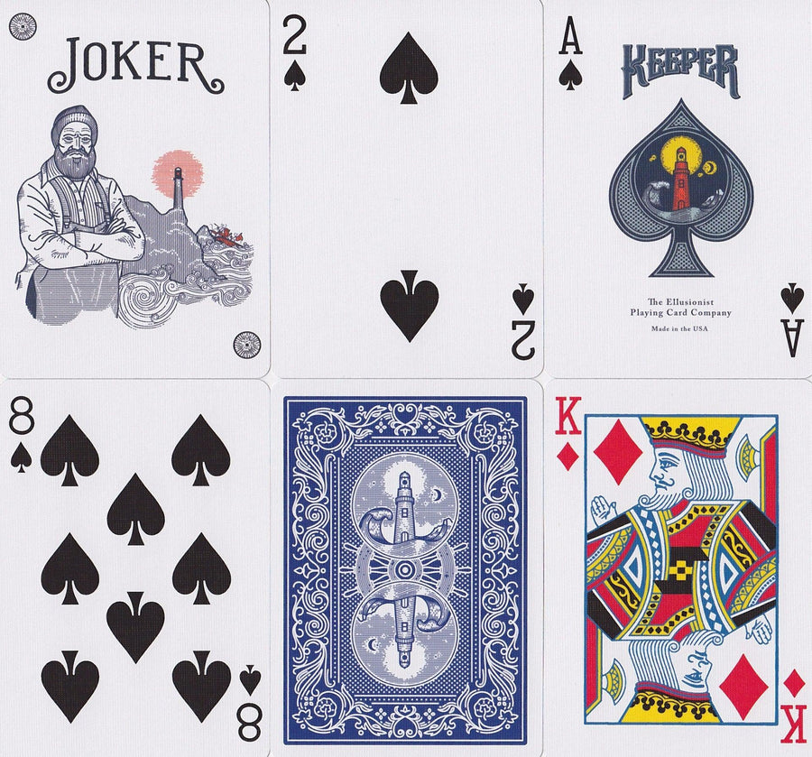 Keepers Playing Cards by Ellusionist