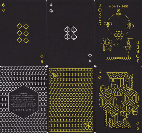 Killer Bees Playing Cards - RarePlayingCards.com - 1