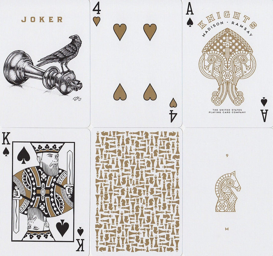 Knights V2 Playing Cards by Ellusionist