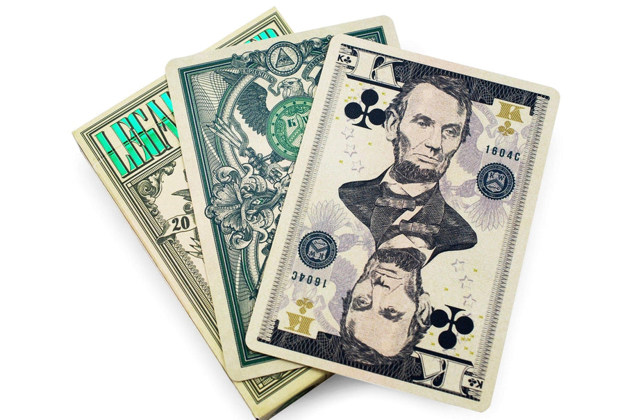 Legal Tender Playing Cards by Kings Wild Project
