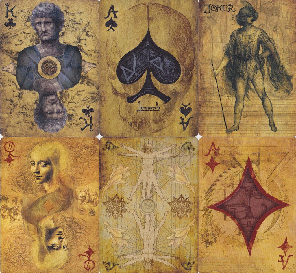 Leonardo Playing Cards - RarePlayingCards.com - 10