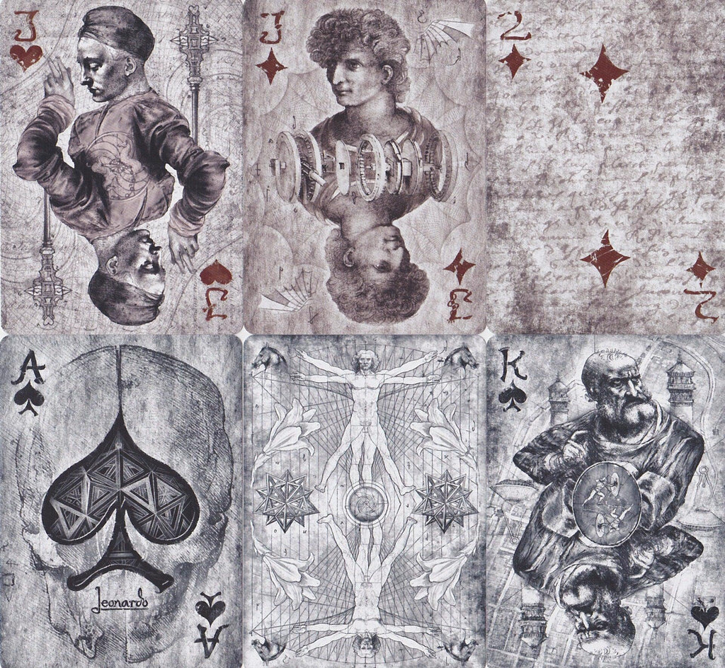 Leonardo Playing Cards - RarePlayingCards.com - 11