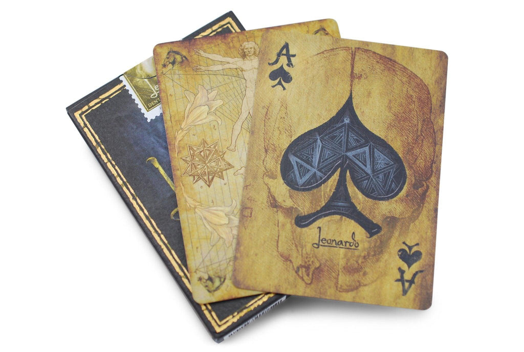 Leonardo Playing Cards - RarePlayingCards.com - 8