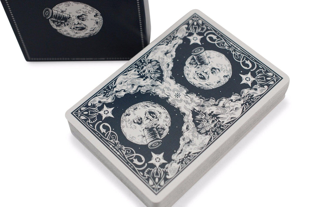 Les Méliès: Eclipse Edition Playing Cards - RarePlayingCards.com - 1