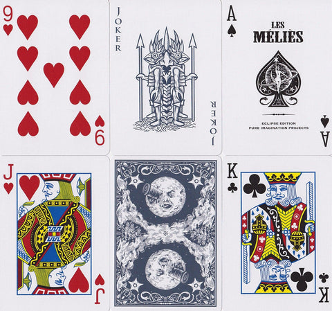 Les Méliès: Eclipse Edition Playing Cards