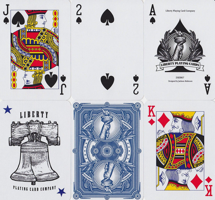 Liberty Playing Cards by Liberty Playing Card Co.