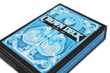 Light Blue Crown Playing Cards - RarePlayingCards.com - 3