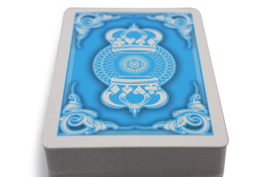 Light Blue Crown Playing Cards by The Blue Crown