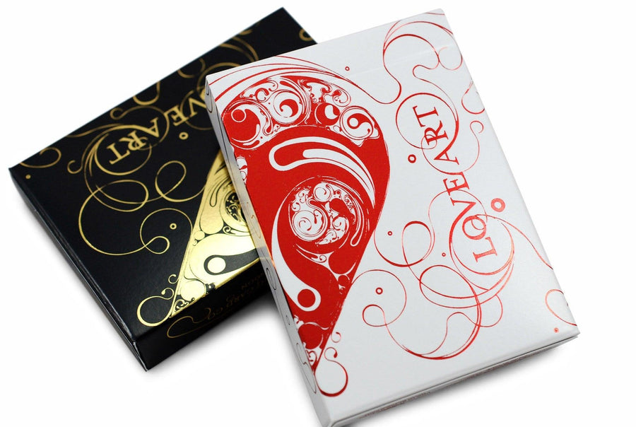 Love Art Playing Cards by Bocopo Playing Card Co.