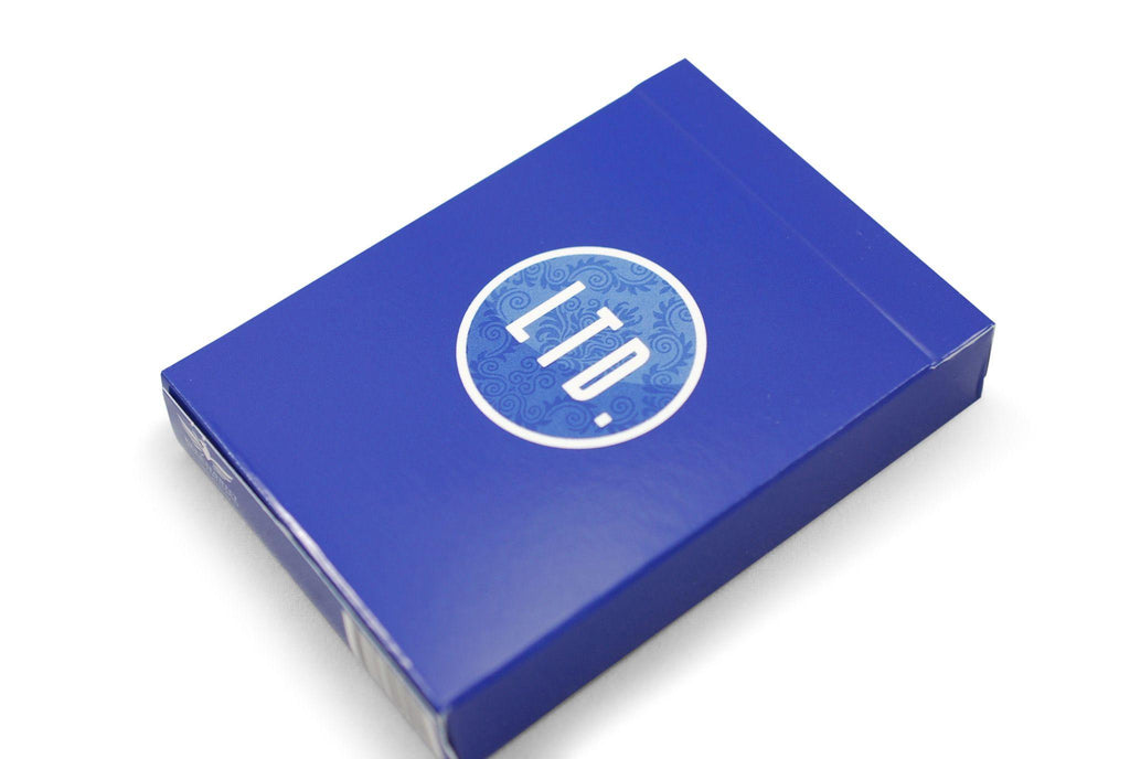 LTD Blue Playing Cards - RarePlayingCards.com - 2