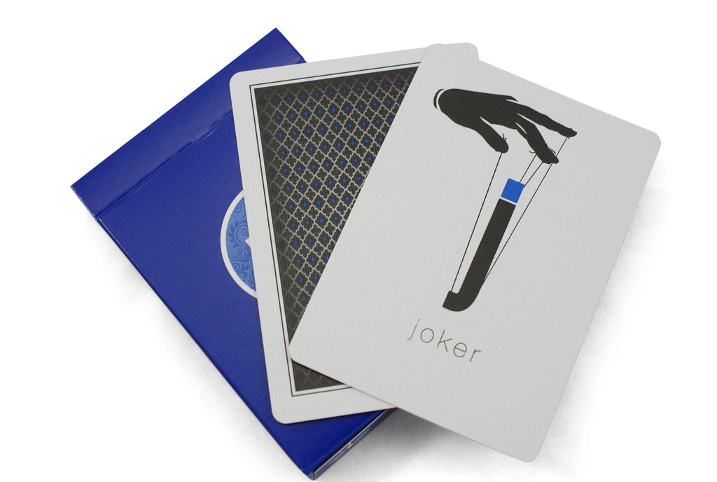 LTD Blue Playing Cards - RarePlayingCards.com - 6