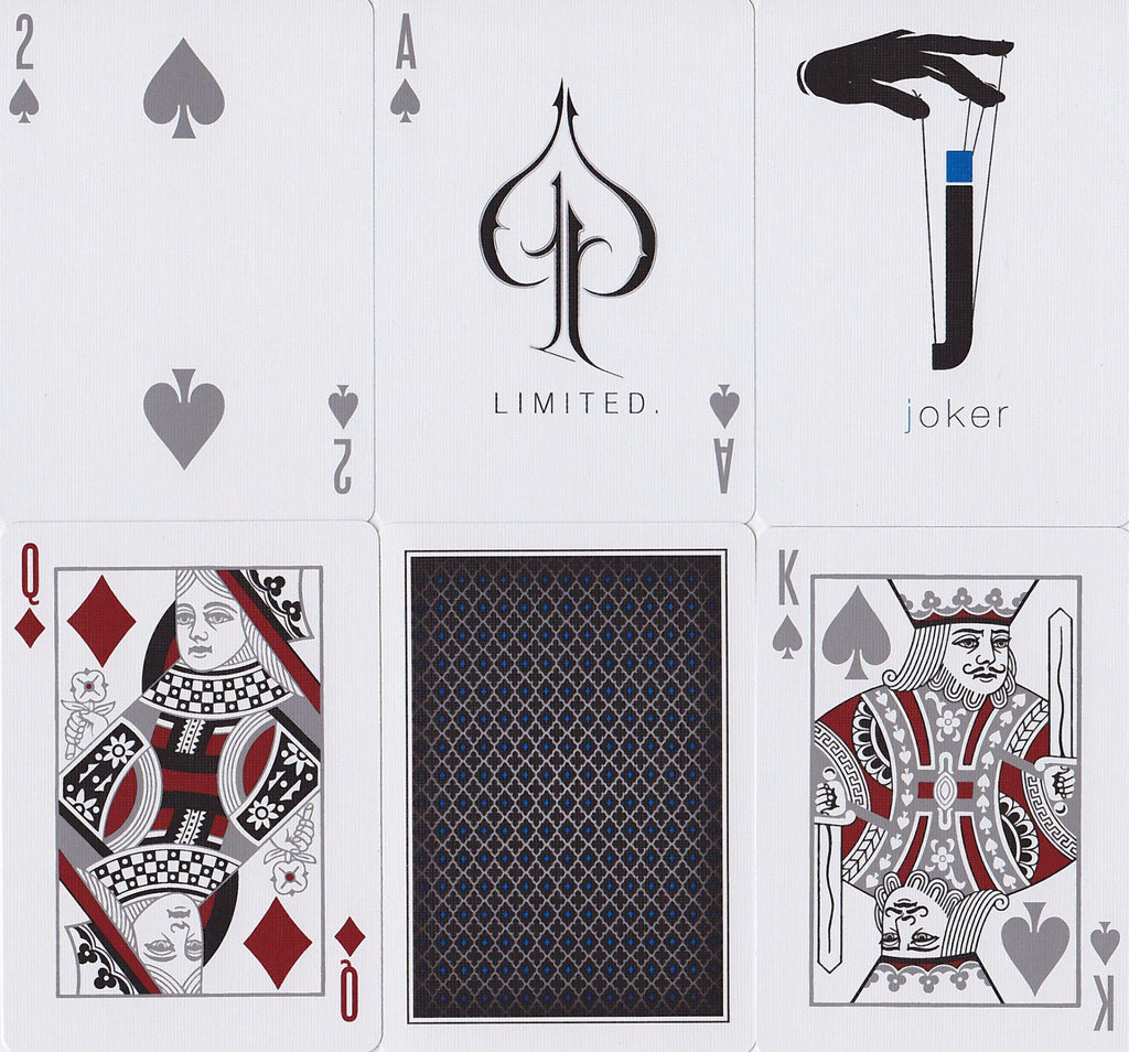 LTD Blue Playing Cards - RarePlayingCards.com - 7