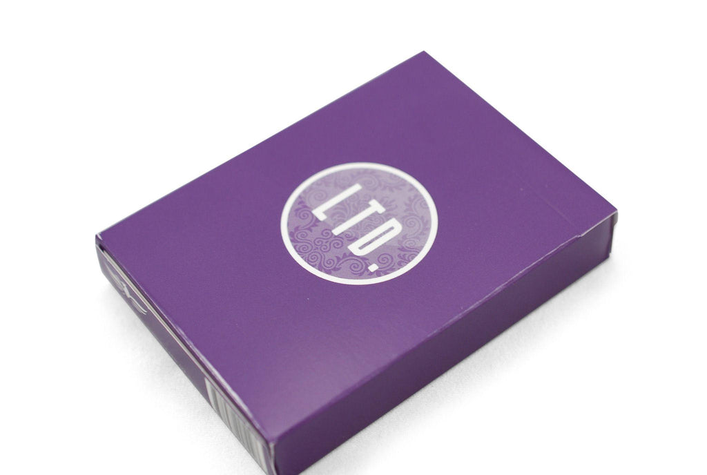 LTD Purple Playing Cards - RarePlayingCards.com - 3