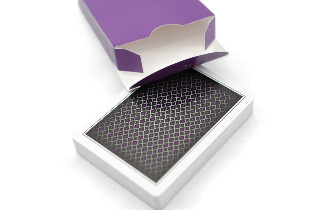 LTD Purple Playing Cards - RarePlayingCards.com - 4