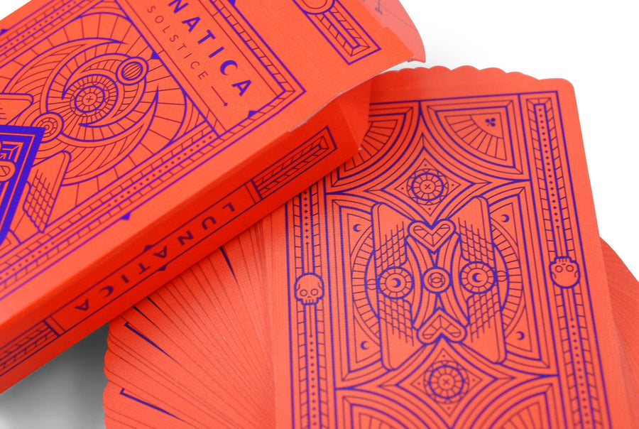 Lunatica Solstice Playing Cards by Thirdway Industries