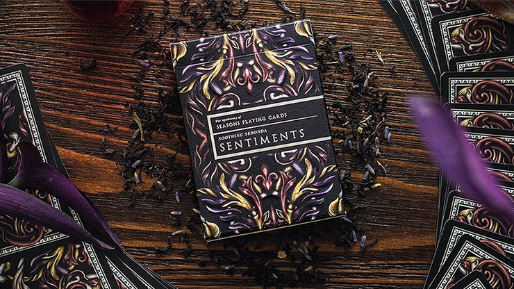 Luxury Apothecary (Sentiments) Playing Cards by Seasons Playing Cards