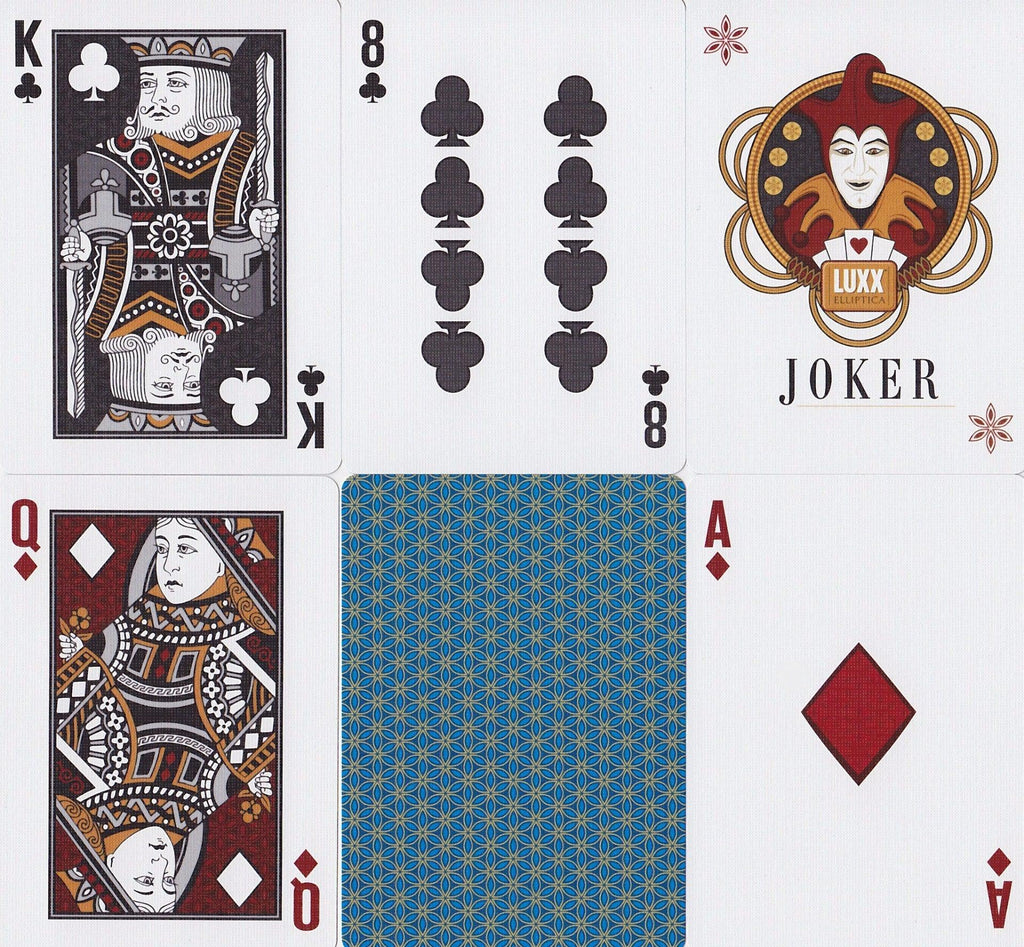 LUXX® Elliptica Playing Cards - RarePlayingCards.com - 10