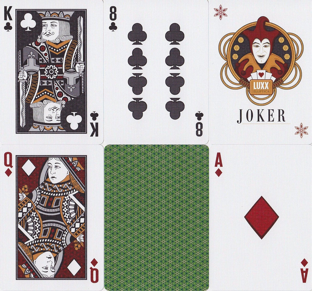 LUXX® Elliptica Playing Cards - RarePlayingCards.com - 11