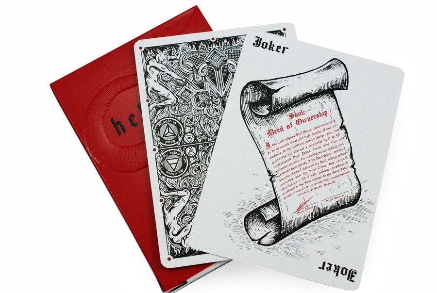 Madison Hellions Playing Cards by Ellusionist