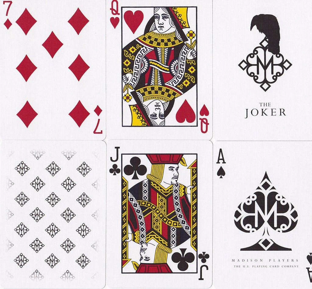 Madison Players Playing Cards - RarePlayingCards.com - 9