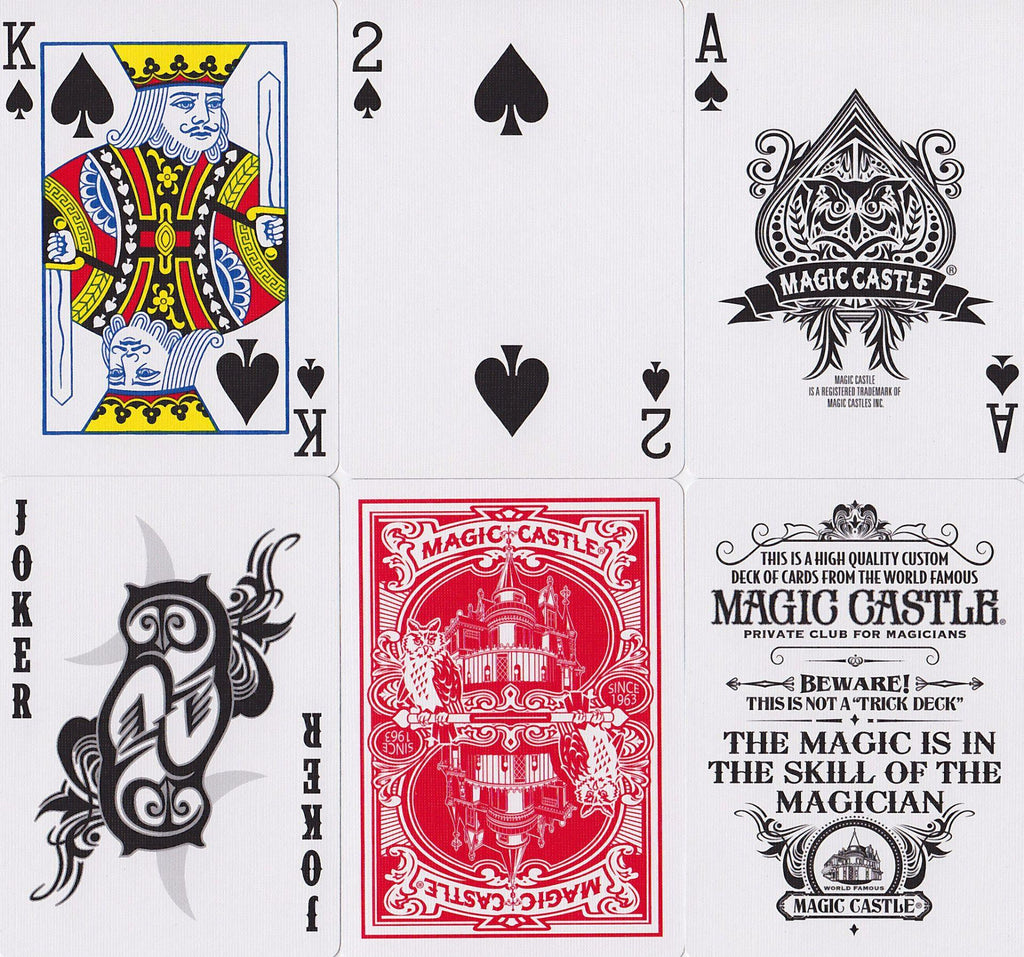 Magic Castle Playing Cards - RarePlayingCards.com - 10