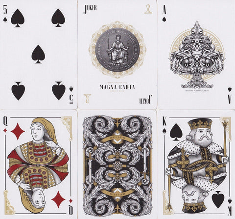 Magna Carta: King John Edition Playing Cards - RarePlayingCards.com - 1
