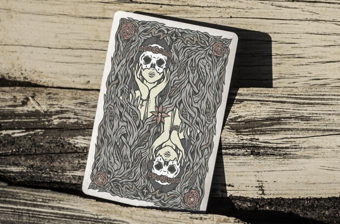 Maidens Playing Cards by US Playing Card Co.