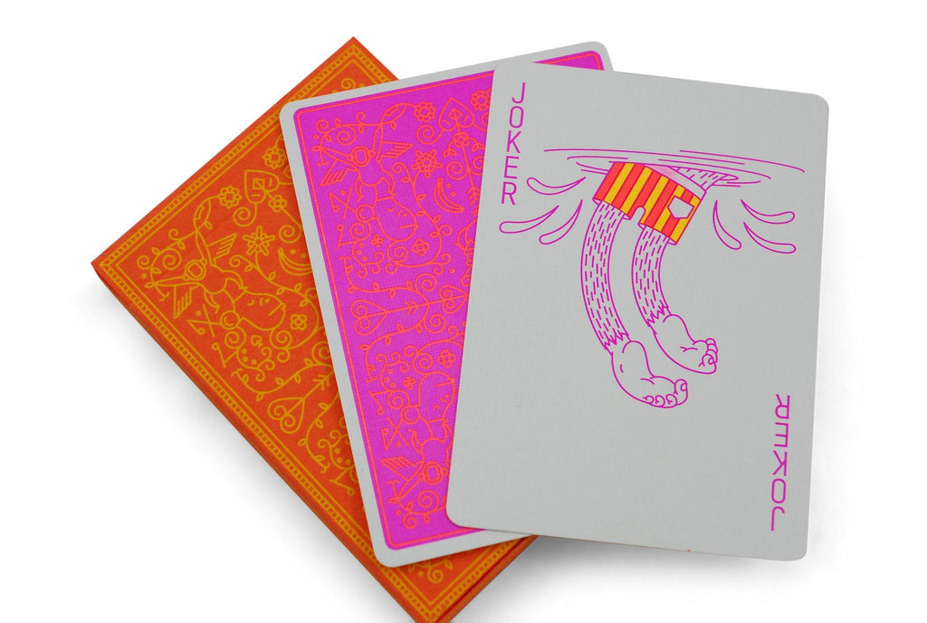 MailChimp Summer Edition Playing Cards - RarePlayingCards.com - 8