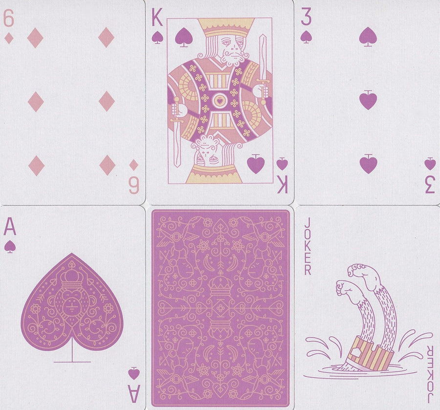 MailChimp Summer Edition Playing Cards by Theory11