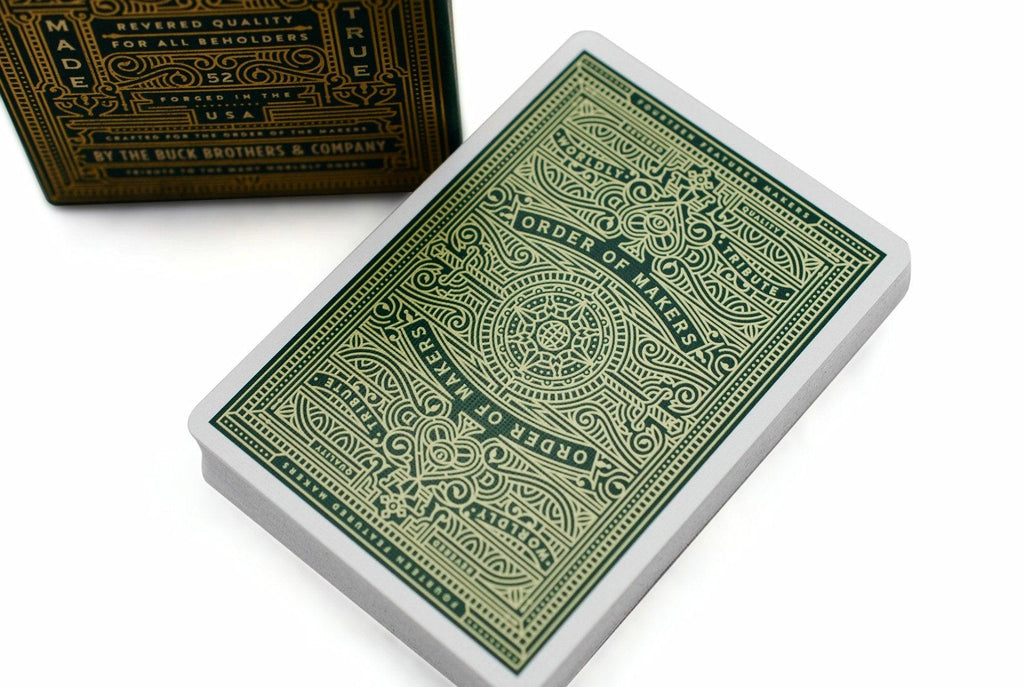 MAKERS Playing Cards - RarePlayingCards.com - 1