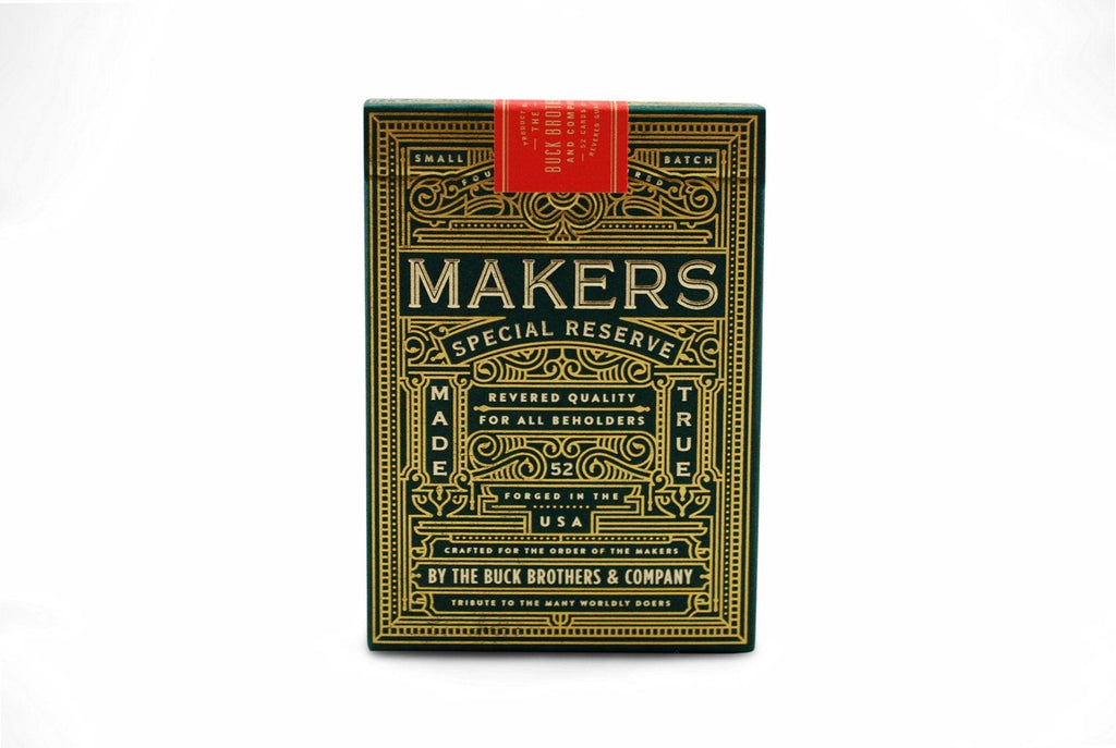MAKERS Playing Cards - RarePlayingCards.com - 2